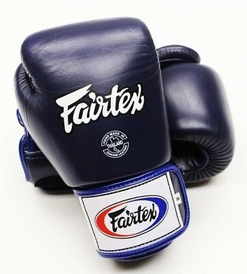 Fairtex Training Gloves - Blue - BGV1 - 12 oz