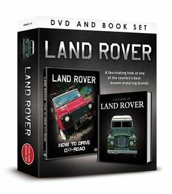 Land Rover How To Drive Off Road Dvd & Little Book Of Land Rover Gift Set
