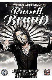 The World According To RUSSELL BRAND (18) 2010 Stand-Up Comedy  DVD Region 2