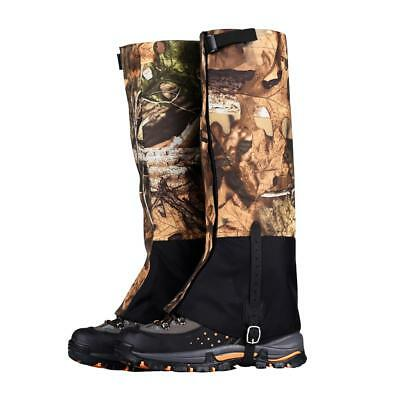 Outdoor Hiking Hunting Snow Legging Gaiters Waterproof Boots Protector Cover