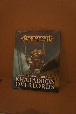 Warhammer Age of Sigmar Kharadron Overlords - Warscroll Cards - New and Sealed