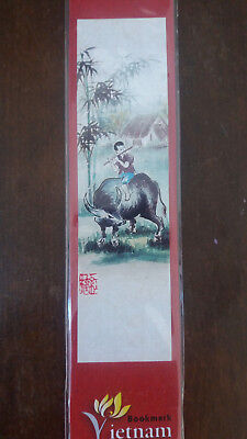 4 Segnalibri In Carta Di Riso Vietnam (4 Bookmarks In Vietnam Rice Paper)