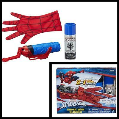 Marvel Spider Man Super Web Slinger Kids Pretend Play Toy Role Playing hero new