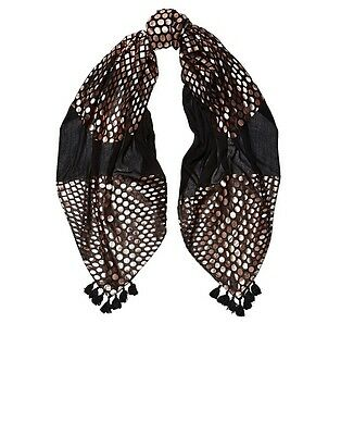 New Arrival MIMCO MUSE SCARF RRP $79 Black New Released!