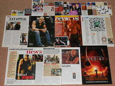 20- VIN DIESEL Magazine Clippings