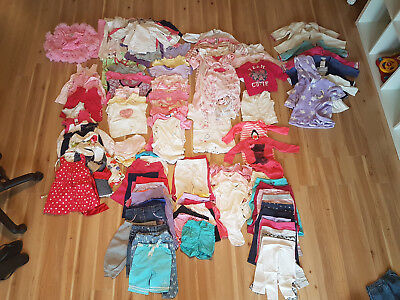 Girls Bulk Pack Sizes 00000, 0000, 000, 00, 0, 1, 2 &.3 Wraps, Sleep suit, hats