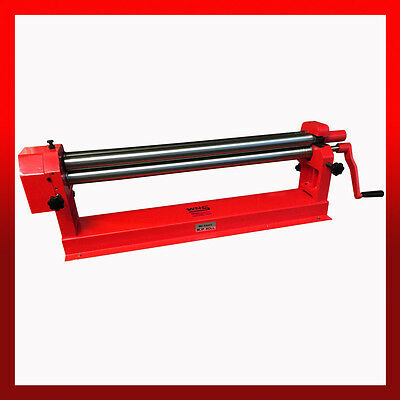 WNS Top Slip Bench Bending Rolls / Rollers 915mm x 50mm x 1.2mm Tube Rolling