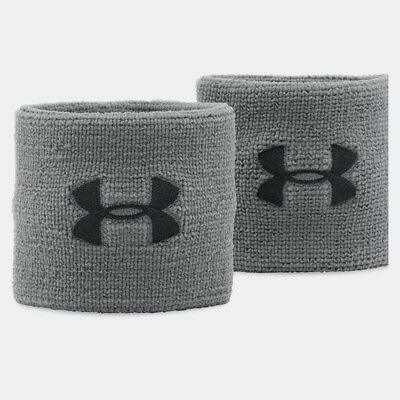Under Armour Mens Performance Polyester Running Wristbands