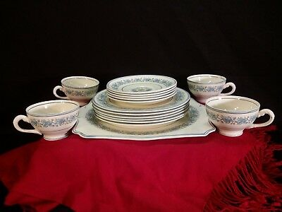 ANTIQUE MYOTT STAFFORDSHIRE ENGLAND DISHES Floral Dinnerware China 1800's
