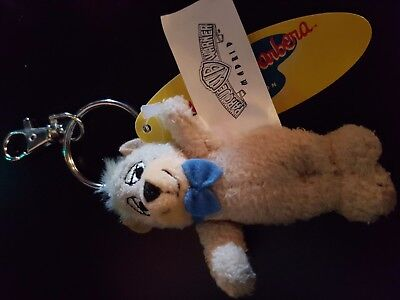 Brand New Exclusive Warner Brothers Official Boo-Boo Bear Plush Keyring