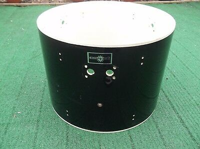 """22"""" Bass Drum Shell in Black by CB Drums - No Hardware Upcycling For Furniture?"""