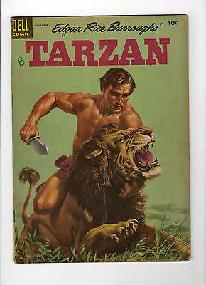 Tarzan #62 (Nov 1954, Dell) - Good-