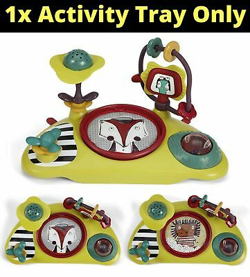 Baby Snug Activity Play Tray Mamas and Papas Fit Bud Booster Chair Seat Toys New