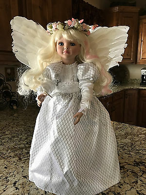 """Marie Osmond Heavenly Dream 22"""" Limited Edition Porcelain Doll New 69/275"""