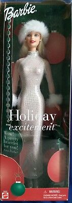 Holiday Excitement 2001 Barbie Doll