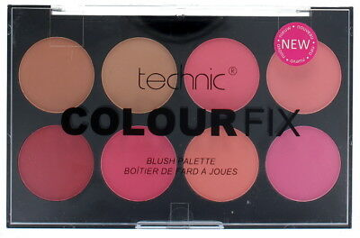 Technic Colour Fix Compact Palette Poudre 8 Couleurs Blush