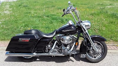 Harley Davidson ROAD KING Custom Bagger 2004 Twin Cam FLHRSI Festpreis Winter