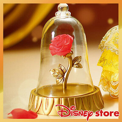 Beauty and the Beast LED Light Rose Ornament Disney Store Disney Official