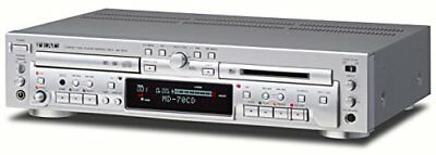 Teac Md-70Cd-S Cd Player/Md Recorder Silver Mini Disc/Cd Combination Deck New