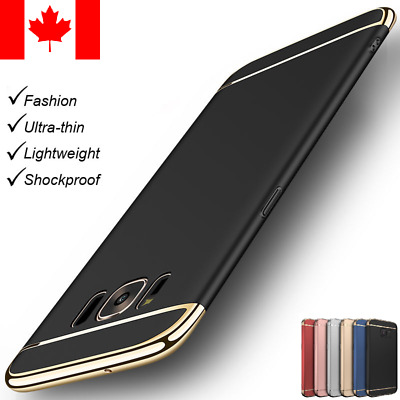 Luxury Slim Shockproof Armor Hard Case Cover For Samsung Galaxy S7/S8Plus/Note8