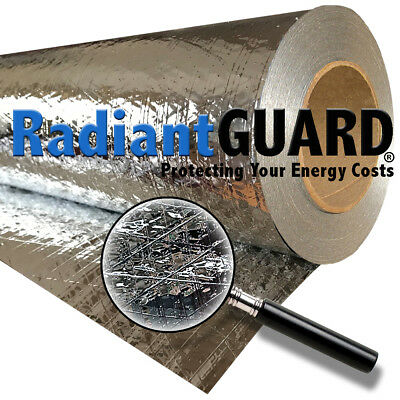 Radiant Barrier Insulation RadiantGUARD® CLASSIC 1000 sf Reflectivity of 95%