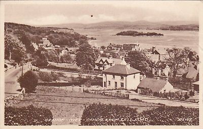 Grange-Over-Sands - From Kell Road B&w Postcard