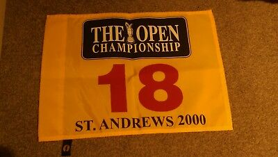 The Open pin flag 2000 (Tiger Woods)