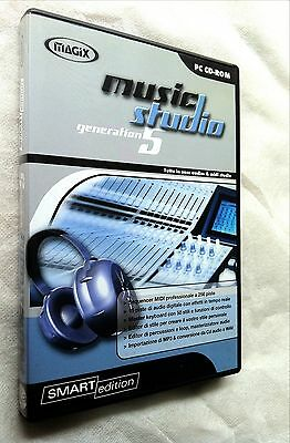 Magix_Music Studio Generation 5 _ Smart Edition_Italiano_Made Germany