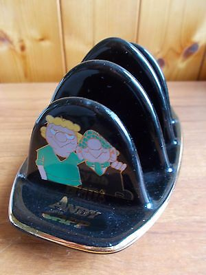 Vintage Andy Capp Toast Rack by Wade