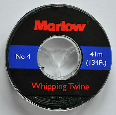 Marlow Whipping Twine (No. 4) 41m / 134ft - Green