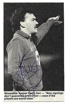 Newcastle - Kevin Carr Signed
