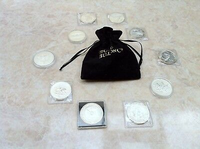 My Collection of Silver Coins (9.5oz Pure Silver in Total)