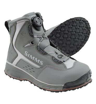 Simms RiverTek 2 BOA Wading Boot - Size 12 - Rubber Sole - NEW - DISCOUNTED
