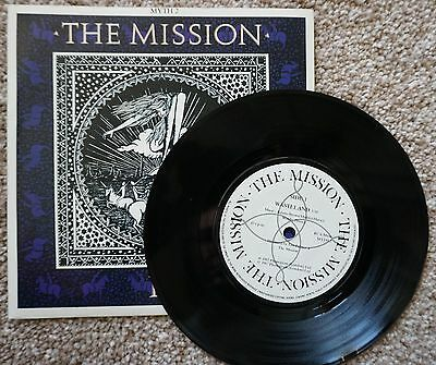 "The Mission - Wasteland 7"" vinyl c/w picture sleeve"