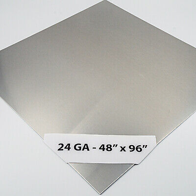 """430 Stainless Steel Wall Panel, 24Ga x 48"""" x 96"""" , #4 Brushed Finish"""
