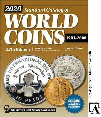 Standard Catalog of World Coins 1901-2000 45.A. 2018 Welt Münzen Katalog Krause