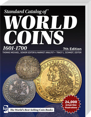 Standard Catalog of World Coins 1601-1700 7.A. 17.Jh.Welt Münzen Katalog Krause