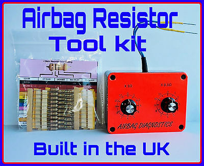 New Airbag Resistor Tool+*100 Free Resistors * Variable  Diagnostic Srs Test