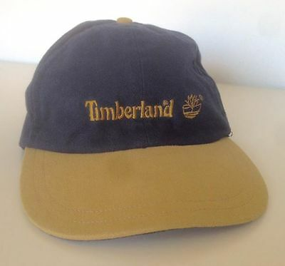 "Cappellino vintage vtg Timberland anni 90 serie ""Weathergear"" cap hat"