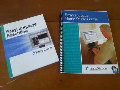 TradeStation EasyLanguage Home Study Course & CD + Programmers Guide - Finance