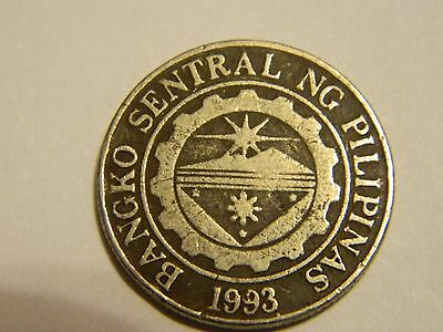 1997 Philippines 1 Piso Coin  ----Lot #3069