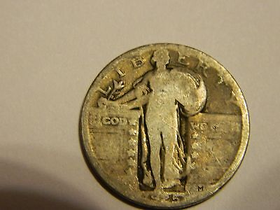 1925 Standing Liberty Silver Quarter --INV200