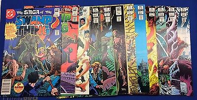 Saga Of the Swamp Thing 1,3,4,5,8,9,10,11,13,14,15,18 - 12 Comic Lot
