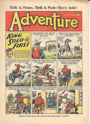 Adventure 1411 (Feb 2, 1952) very high grade copy