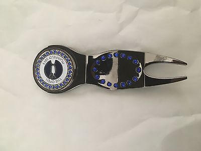 The Open Championship 2013 Muirfield-Crystal Pitch Fork-Very Rare!!
