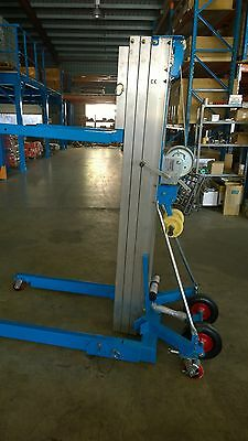 Winch Operated High Lift Duct Lifter   Air Conditioner Aircon Garage Doors
