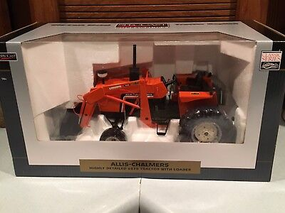 SpecCast Allis Chalmers 6070 Tractor With Loader 1/16 Highly Detailed New in Box