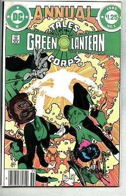 Tales Of The Green Lantern Corps Annual #1-1985 fn- Gil Kane