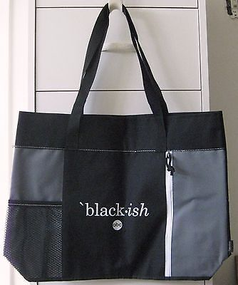 Blackish Black-Ish Abc New Promo Tote Bag Anthony Anderson Tracee Ellis Ross