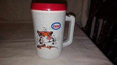 Maxwell House Coffee Max Esso Tony the Tiger travel mug cup made in USA  1980's